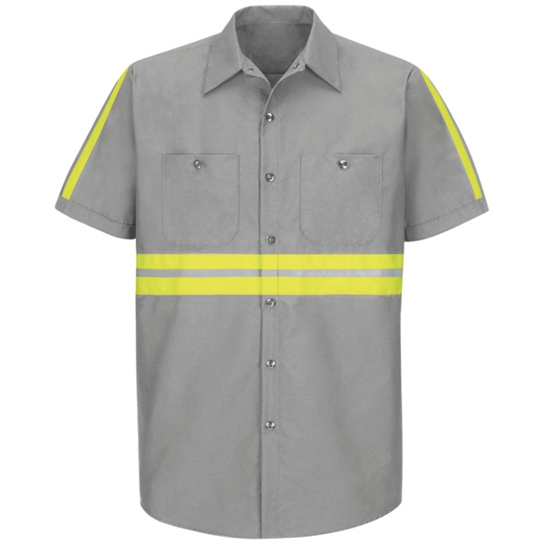 Enhanced Visibility Industrial Work Shirt - #SP24EG