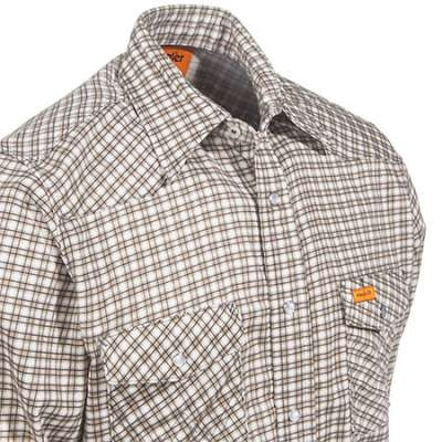 Wrangler FR Western Workshirt Plaid