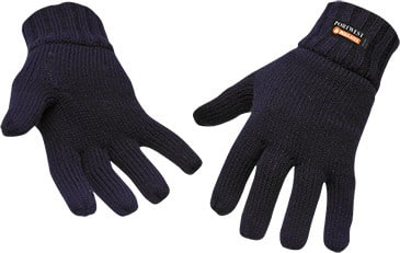 Knit Glove Insulatex Lined/Navy #GL13