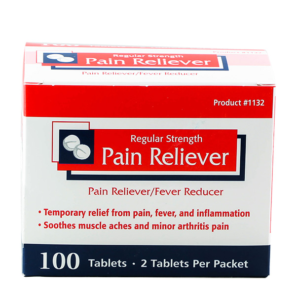 Pain Reliever 250ct #1134