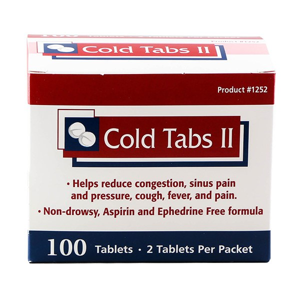 Cold Tabs 250ct #1254