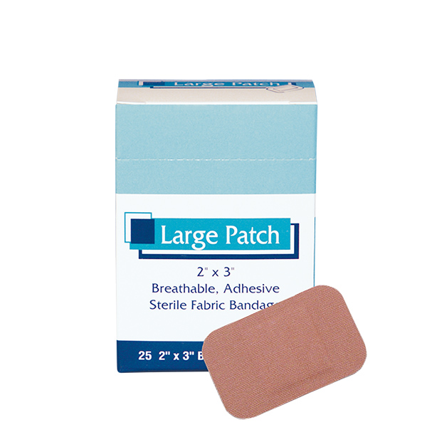 Large Patch Bandages 25ct #0354