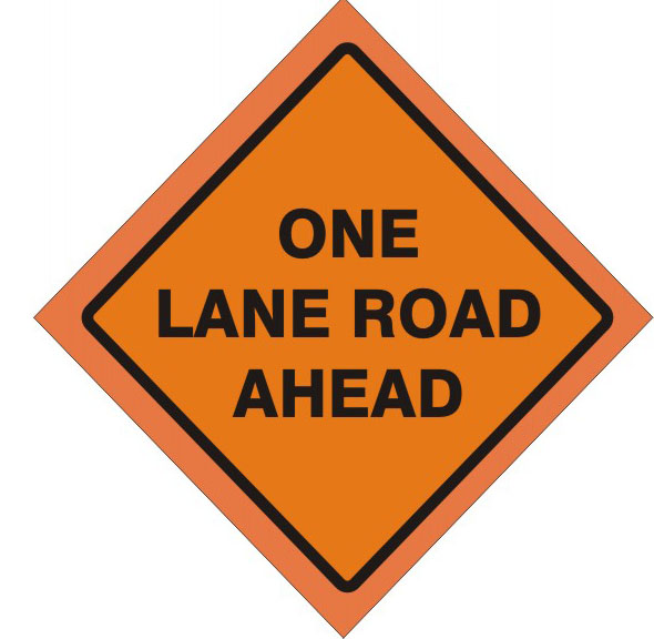 One Lane Road Ahead 48