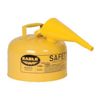 Eagle Safety Can 2.5 Gallons Type I with Funnel