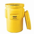 Eagle #1690 Over-pack Poly Drum 95 Gal Yellow With Screw On Lid