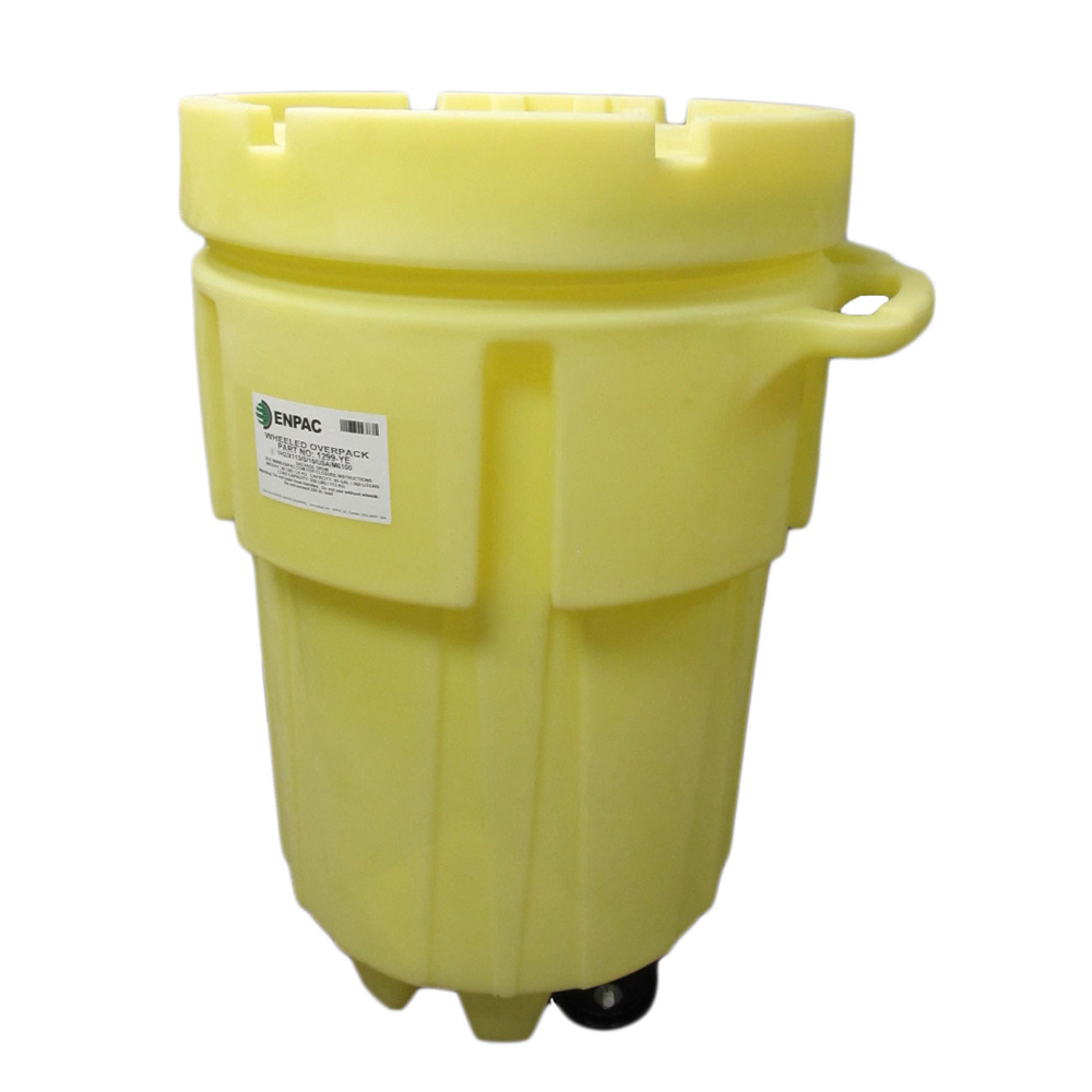 EnPac 95 Gallon Wheeled Poly Spill Kit Container #1299-YE