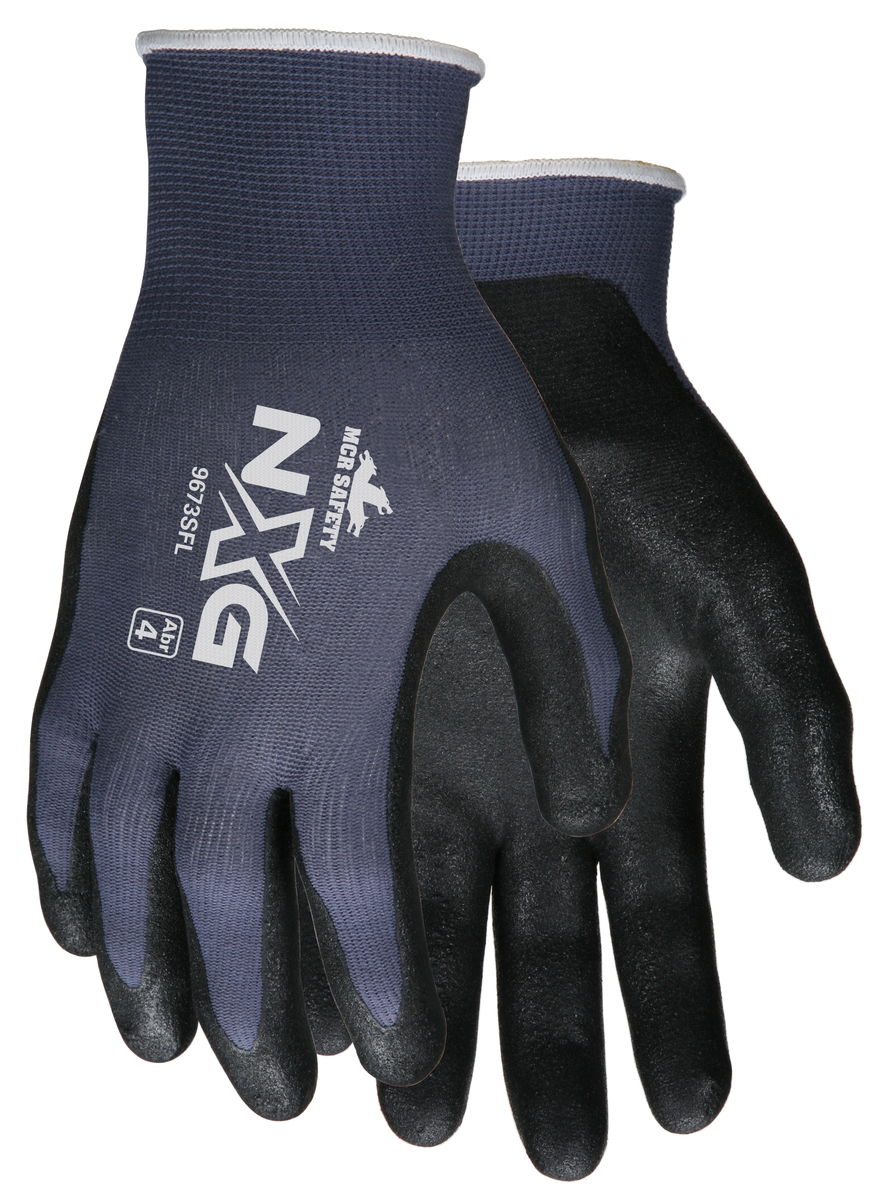Nitrile Palm Glove #9673SFL