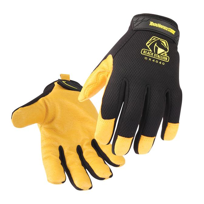 ToolHandz CORE Pig Grain Palm Mech. Glove #GX4040-BY