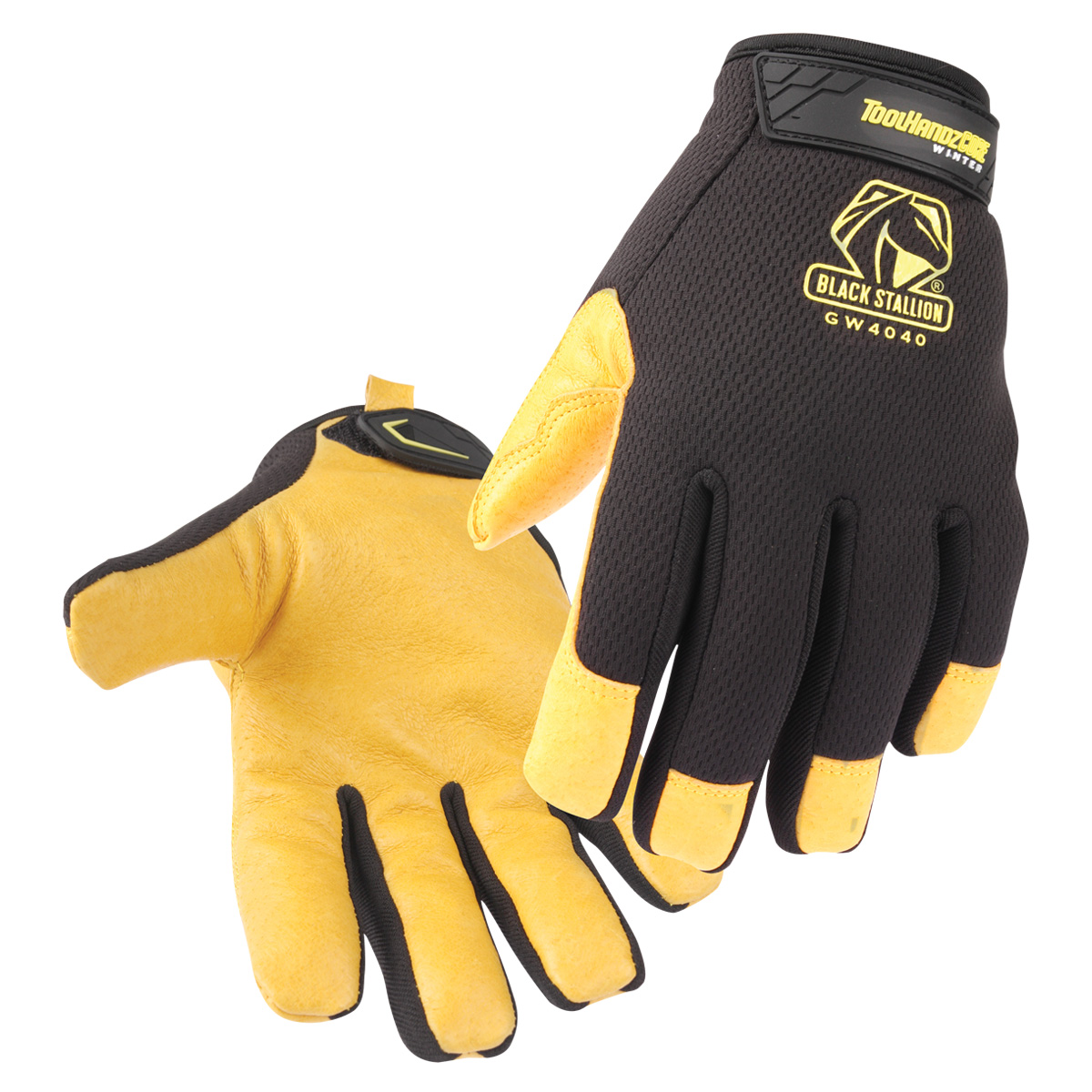 ToolHandz CORE Pig Grain Palm Mech. Glove Winter #GW4040-BY