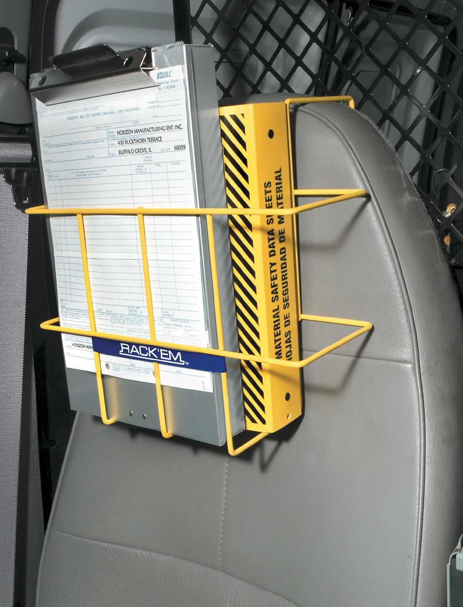 Over-The-Seat SDS Binder Rack #3006