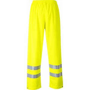 Sealtex Flame Hi-Vis Trouser Yellow #FR43YER