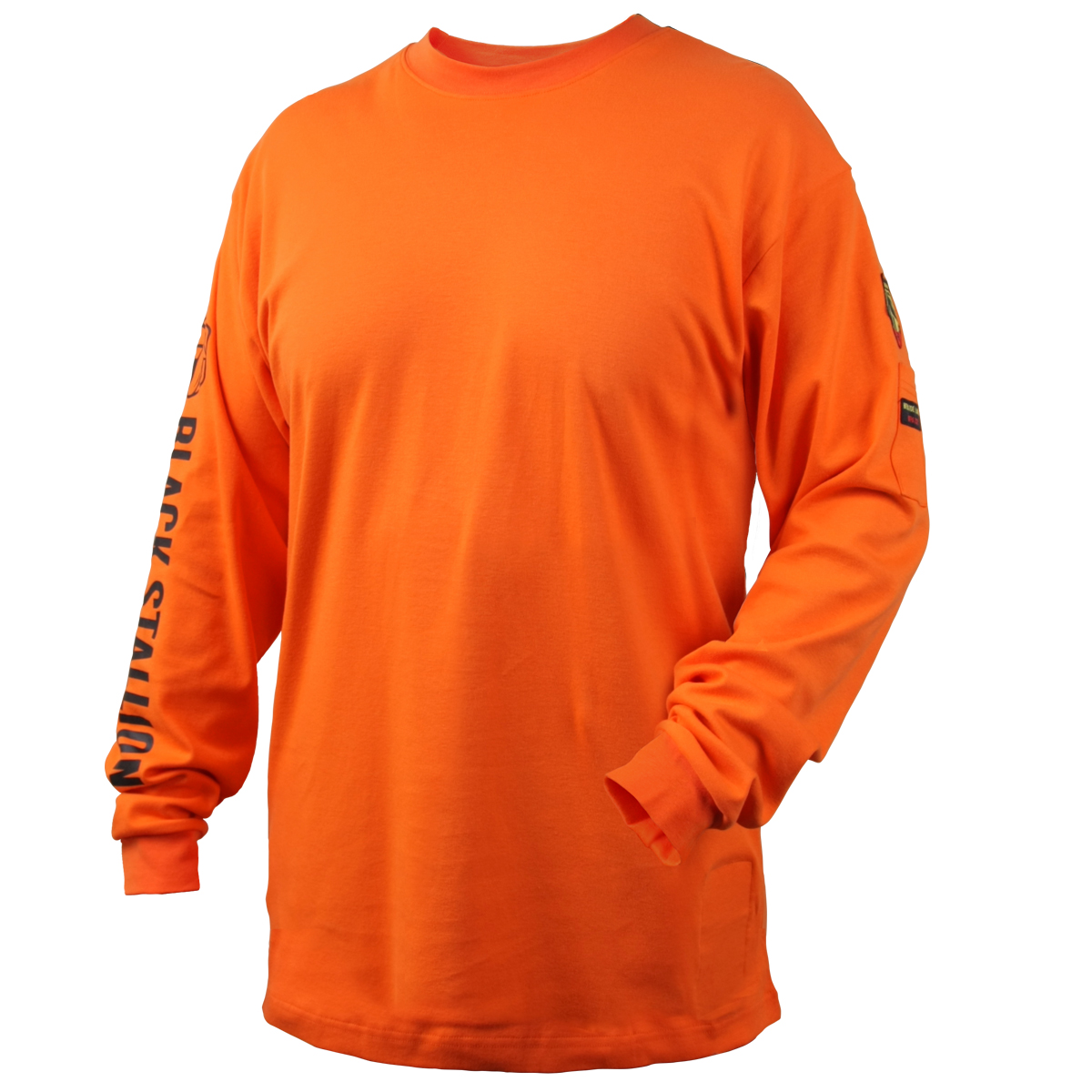 7oz. FR Cotton Knit Long-Sleeve T-Shirt #TF2510-OR