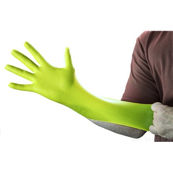 Heavy-Duty Disposable Nitrile Gloves #GWGN