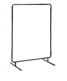 Tubular Framed Steel Portable Welding Screen Frame #RAD64052109