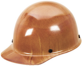MSA Natural Tan Skullgard Phenolic Cap Style Hard Hat #MSA475395