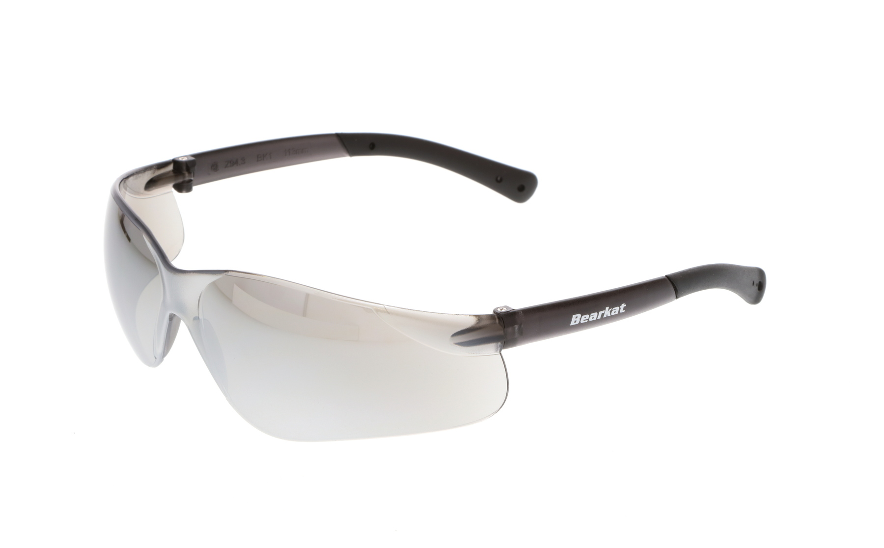 BearKat® BK1 Series Safety Glasses with Silver Mirror Lens #BK117