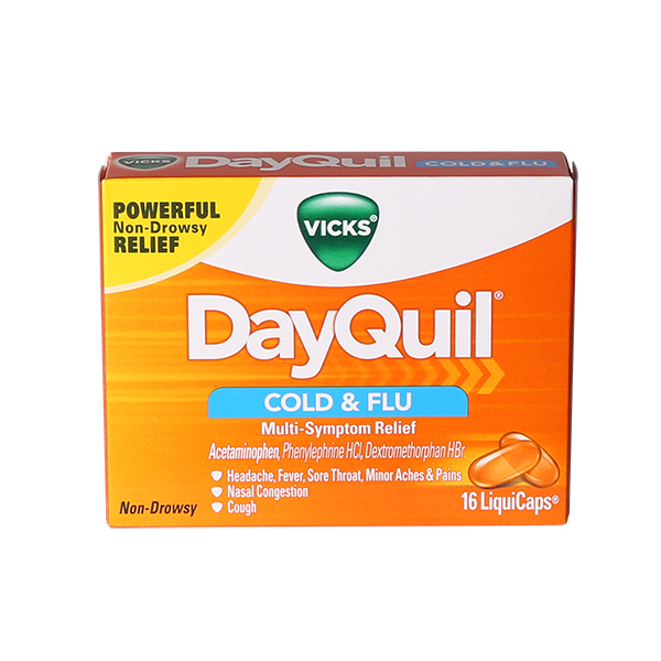 DayQuil Liquicaps #1318