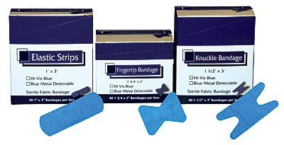 Metal Detectable Bandages