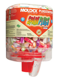 Tapered Foam Earplug Dispenser With Earplugs #MOL6644
