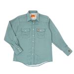 Wrangler FR Geo Plaid Workshirt #FR142GP