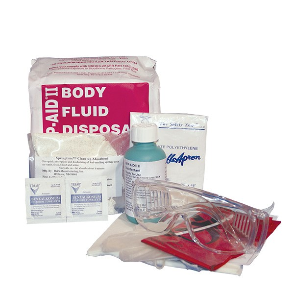 Hep-Aid II Bodily Fluid Clean-up Kit #2821