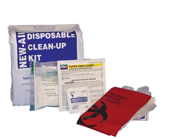 New-Aid Disposable Clean-Up Kit #2823