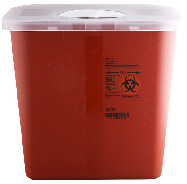 Sharps Container 2-Gal Bio-Hazard #2810