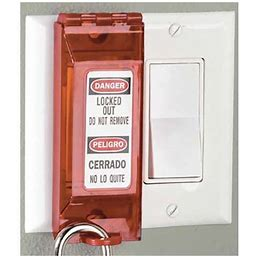 Universal Wall Switch Lockout #H-3438