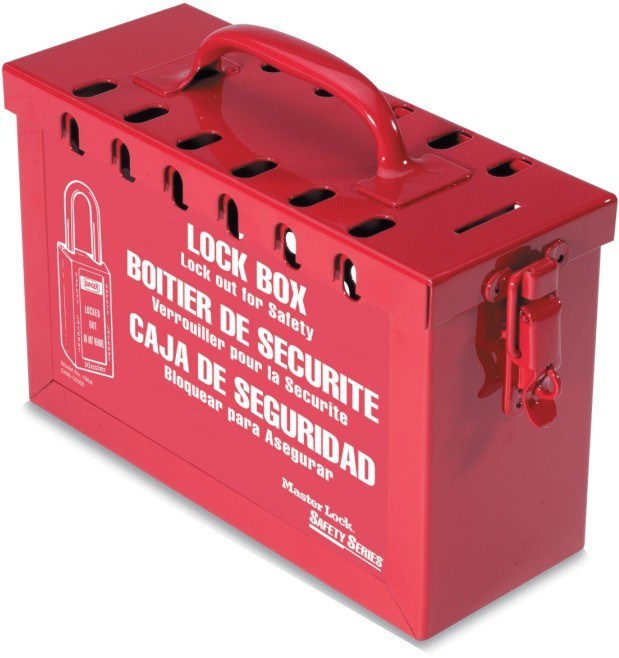 Steel Group Lockout Box #498A