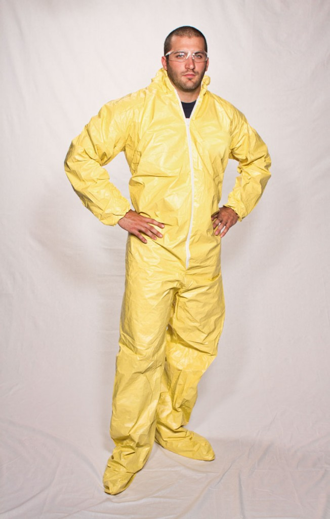 SunShield 100PE Disposable Coverall #S5414