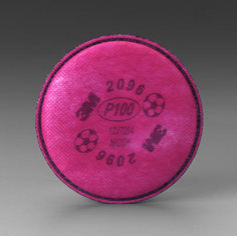 P100 Particulate Filter w/ Nuisance Level Acid Gas Relief #3MR2096