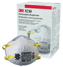 3M™ Particulate Respirator (Box of 20) #8210