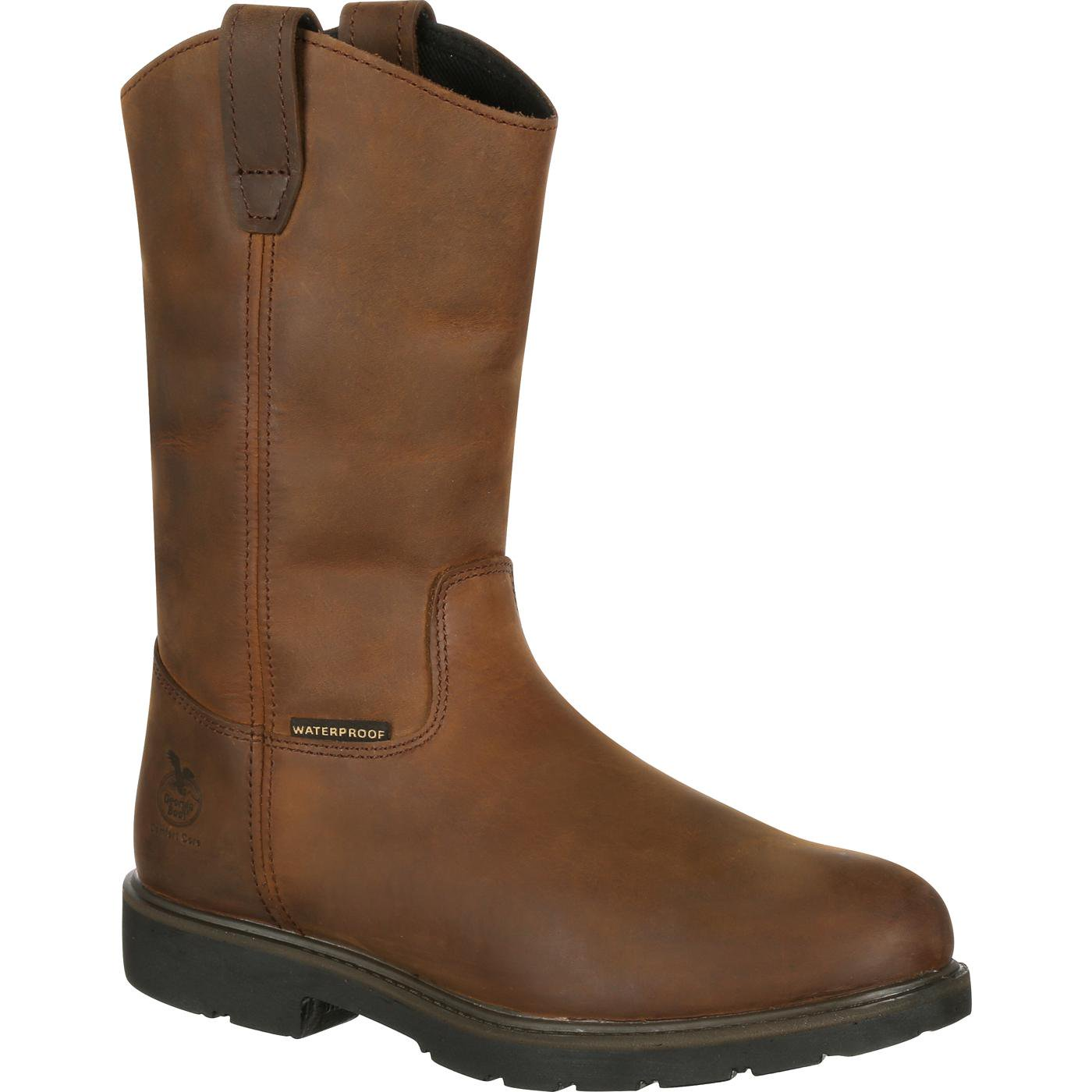 Georgia Boot Suspension System Steel Toe Waterproof Workboot #GB00086