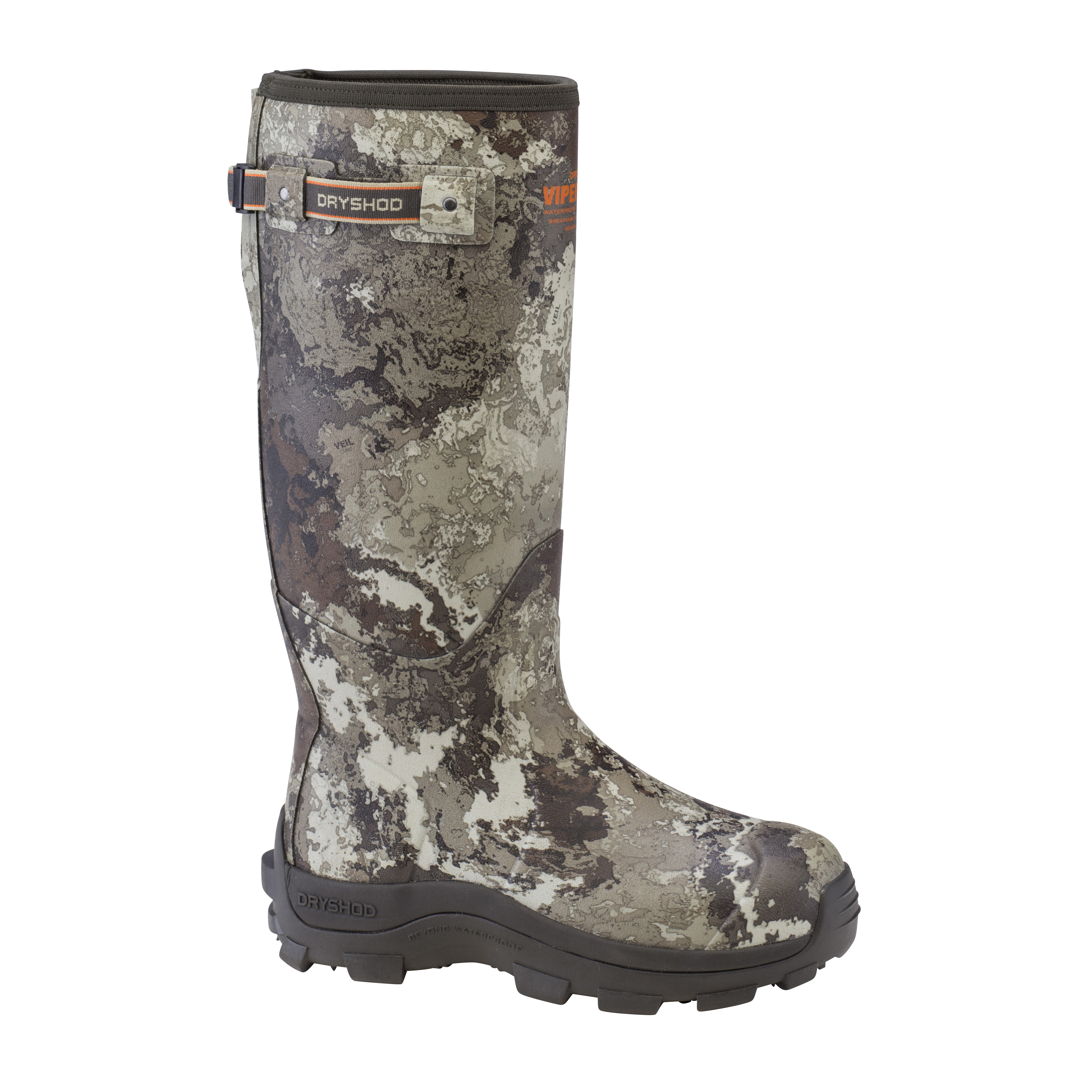 Viper Stop Snake Hunting Boot With Gusset #VPS-MH-CM