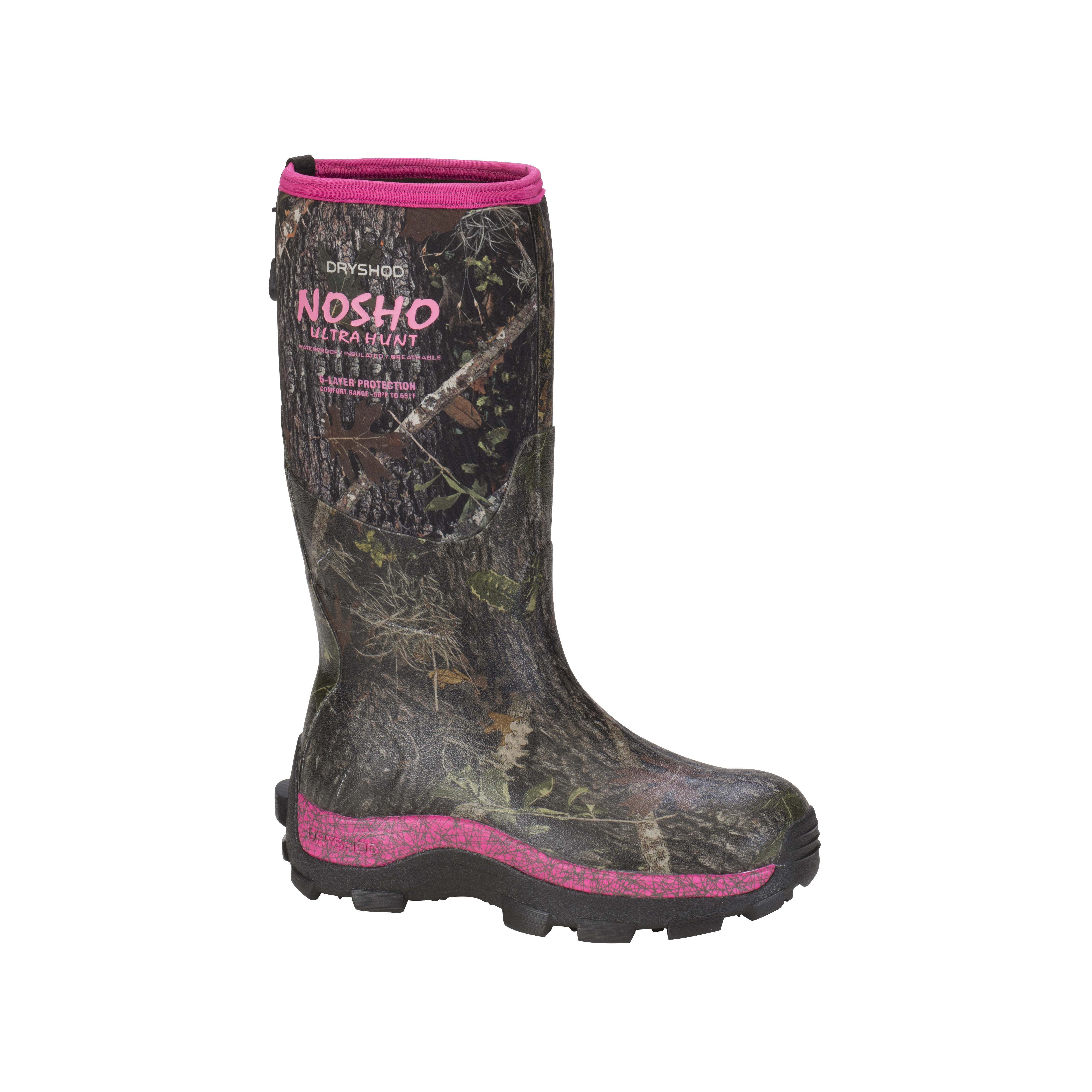 NOSHO Ultra Hunt Women's Cold-Conditions Hunting Boot #MBM-WH-PN