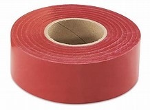 Flagging Tape - Red #S-6089R
