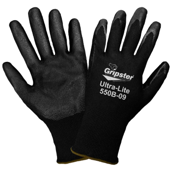 Gripster - Light Nitrile Palm Dipped Gloves #500B